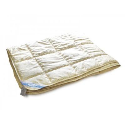 Одеяло Leleka Textile «Овечья шерсть весна-осень» желто-бежевоещ