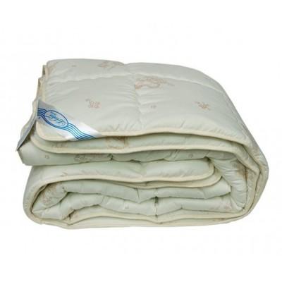 Одеяло зимнее Leleka Textile «Овечья шерсть зима» бежевое