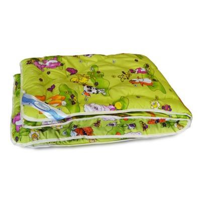 Одеяло детское Leleka Textile «Шерстяное» салатовое