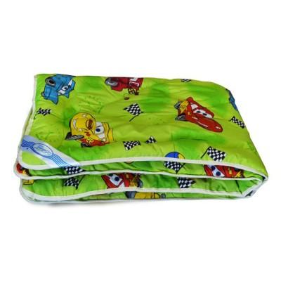 Одеяло детское Leleka Textile «Шерстяное» зеленое