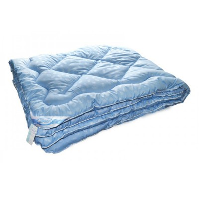 Одеяло Leleka Textile «Лебяжий пух» синее