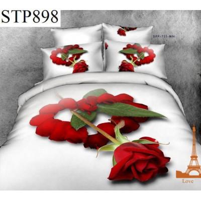 Постельное белье Love you «Симпатия stp 898» сатин