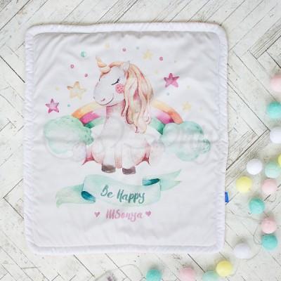 Плед детский «Akvarel Единорог»