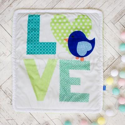 Плед детский «Love»