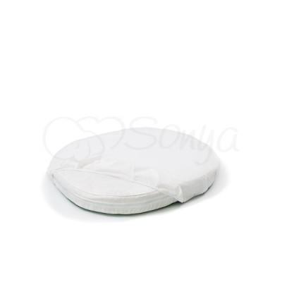 Наматрасник непромокаемый в кроватку круглый «Sonya» 70х70