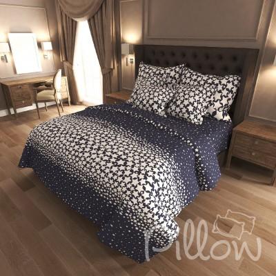 Комплект постельного белья бязь голд «n-7413-a-b» NazTextile