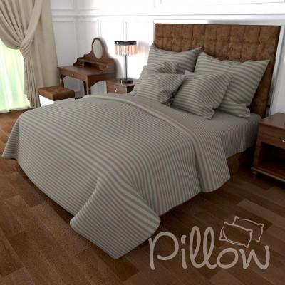 Комплект постельного белья бязь голд «n-0905-grey» NazTextile