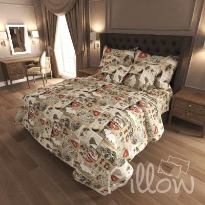 Комплект постельного белья бязь голд «n-7001» NazTextile