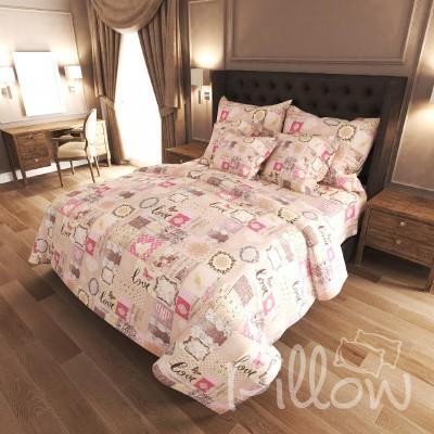 Комплект постельного белья бязь голд «n-7324» NazTextile