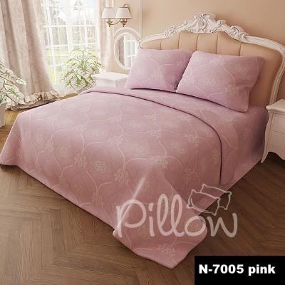 Комплект постельного белья бязь голд «n-7005-pink» NazTextile