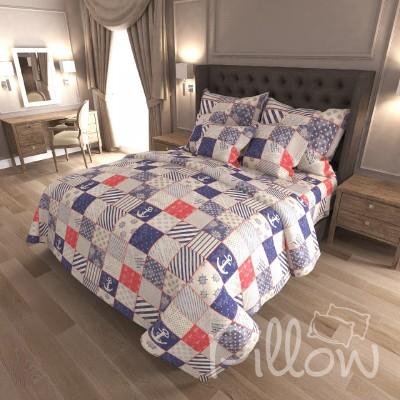 Комплект постельного белья бязь голд «n-7344» NazTextile