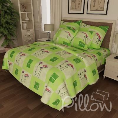 Комплект постельного белья бязь голд «n-6583-green» NazTextile