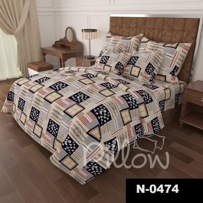 Комплект постельного белья бязь голд «n-0474» NazTextile