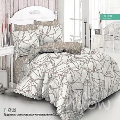 Комплект постельного белья сатин «f-2196-a-b» NazTextile