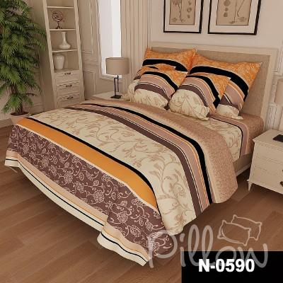 Комплект постельного белья бязь голд «n-0590» NazTextile