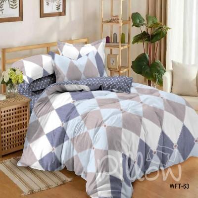 Комплект постельного белья сатин «wft-63-a-b» NazTextile