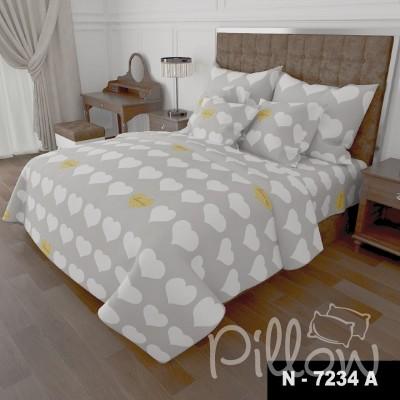 Комплект постельного белья бязь голд «n-7234-a» NazTextile