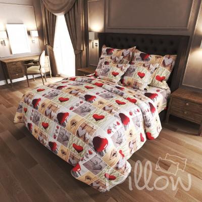 Комплект постельного белья бязь голд «n-7347» NazTextile