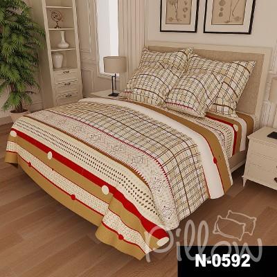 Комплект постельного белья бязь голд «n-0592» NazTextile