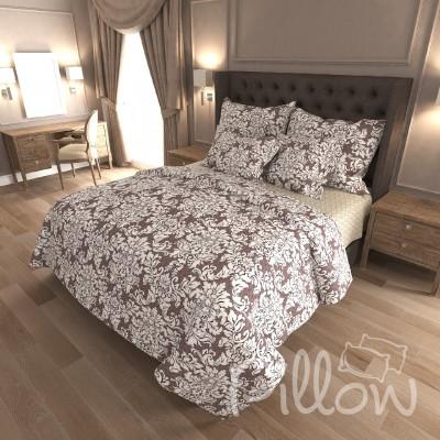 Комплект постельного белья бязь голд «n-7348-a-b» NazTextile