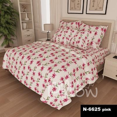 Комплект постельного белья бязь голд «n-6625-pink» NazTextile
