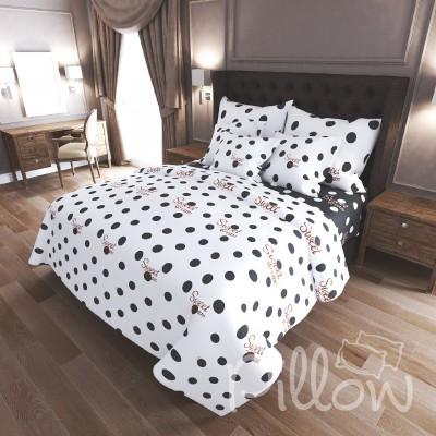 Комплект постельного белья бязь голд «n-7480-a-b» NazTextile