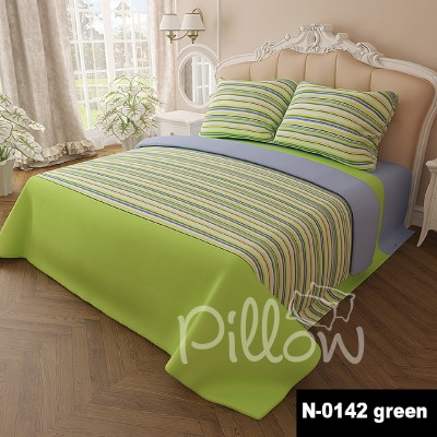 Комплект постельного белья бязь голд «n-0142-green» NazTextile