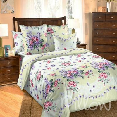 Комплект постельного белья бязь голд «n-6963-green» NazTextile