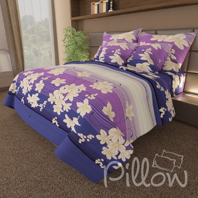 Комплект постельного белья бязь голд «n-086-blue» NazTextile