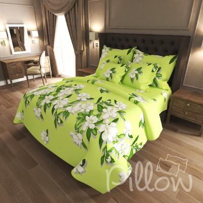 Комплект постельного белья бязь голд «n-6912-a-green» NazTextile