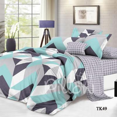 Комплект постельного белья сатин «tk-49-a-b» NazTextile