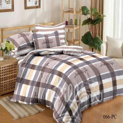 Комплект постельного белья сатин «066-pc-a-b» NazTextile