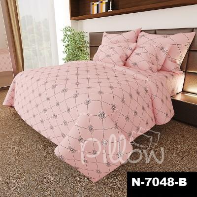 Комплект постельного белья бязь голд «n-7048-b» NazTextile