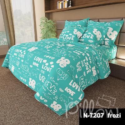 Комплект постельного белья бязь голд «n-7207-frozi» NazTextile