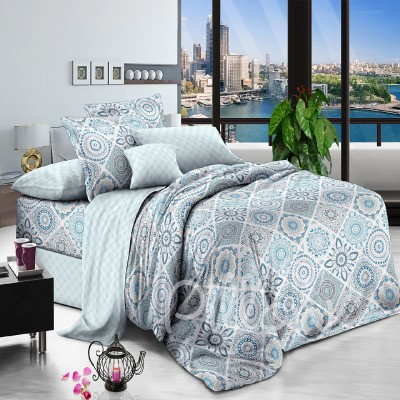 Комплект постельного белья поплин «s-004-a-b» NazTextile