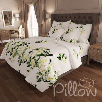 Комплект постельного белья бязь голд «n-6912-a-white» NazTextile