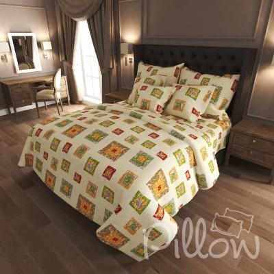 Комплект постельного белья бязь голд «n-0211» NazTextile