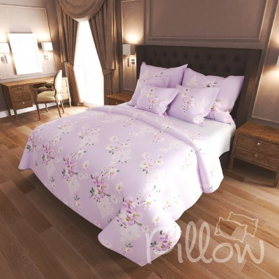 Комплект постельного белья бязь голд «n-7484-a-b» NazTextile