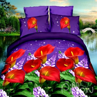 Комплект постельного белья полиэстер «16-xrz-545-n» NazTextile