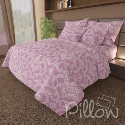 Комплект постельного белья бязь голд «n-7050-a-violet» NazTextile
