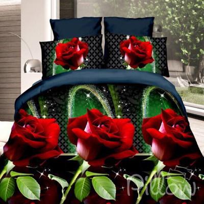 Комплект постельного белья полиэстер «zq-20160621-001» NazTextile