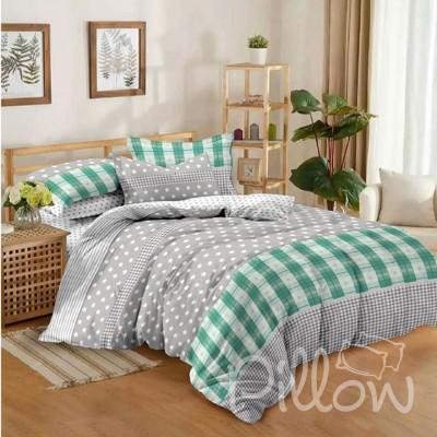 Комплект постельного белья поплин «tm-5005-z-a-b» NazTextile