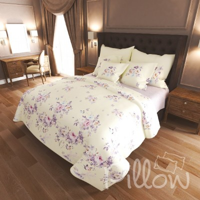 Комплект постельного белья бязь голд «n-7485-a-b» NazTextile