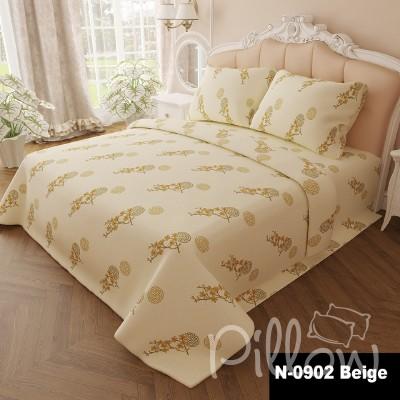 Комплект постельного белья бязь голд «n-0902-beige» NazTextile