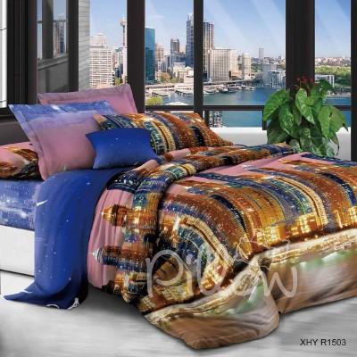 Комплект постельного белья полиэстер «xhyr-1503» NazTextile