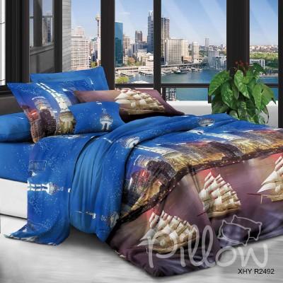 Комплект постельного белья полиэстер «xhyr-2492» NazTextile
