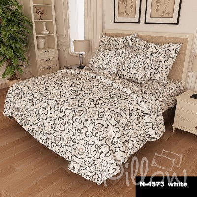 Комплект постельного белья бязь голд «n-4573-white» NazTextile