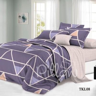 Комплект постельного белья сатин «tkl-08-a-b» NazTextile