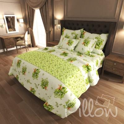 Комплект постельного белья бязь голд «n-6990-a» NazTextile