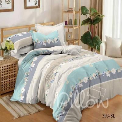 Комплект постельного белья сатин «393-sl-a-b» NazTextile
